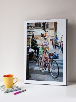 Quadro MDF Foto Fashion Bike