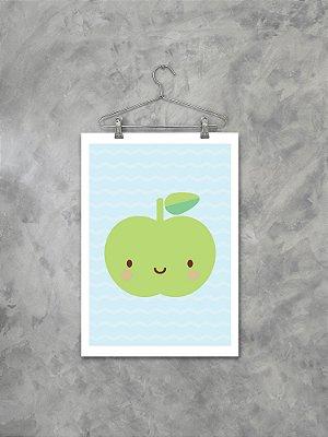Poster Maçãzinha Verde