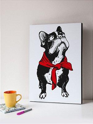 Quadro MDF  Bulldog 1