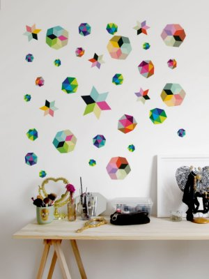 Adesivo de parede Prism