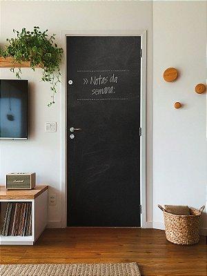 Adesivo para porta lousa negra