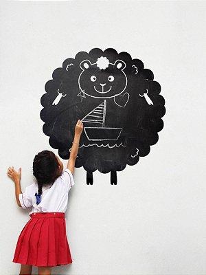 Adesivo de parede Lousa ovelha