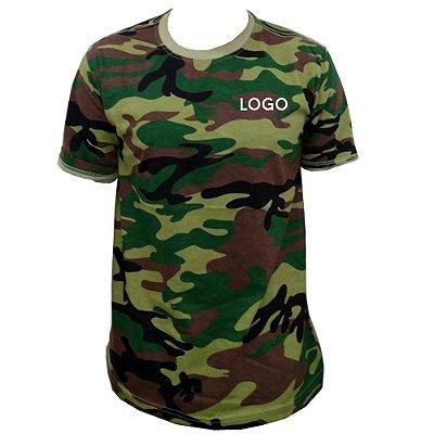 Camiseta 100% Algodão Fio 30.1 penteado Uniformes São Paulo