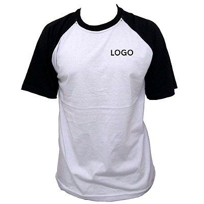 Camiseta 100% Algodão Fio 30.1 penteado Uniformes ABC