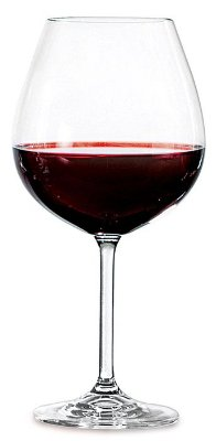 Taça Vinho Bohemia Gastro Cristalc/titânio 650 ml cx c/ 6 pç