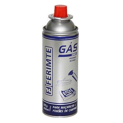 Refil de Gás Butano Para Maçaricos e Fogareiros - 400 ml - Ferimte