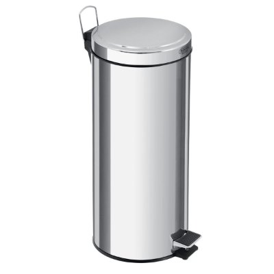 LIXEIRA INOX C/PEDAL E BALDE 30 LTS- Tramontina