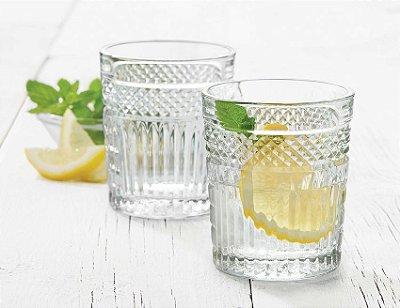 Copo Long Drink Radiant 350ml Baixo Caixa Com 12 copos- Vidro Temperado - Libbey