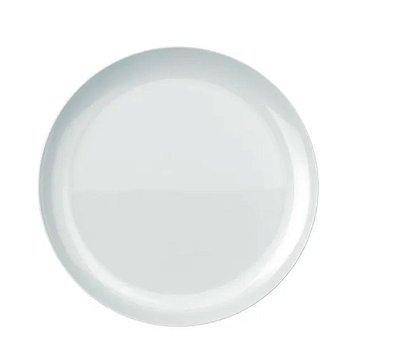 Prato Raso Opaline Blanc 27cm - Kit C/ 6 Unidades