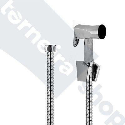 Kit C/ Flexível 1,20 M, Gatilho Metal e Suporte (Sem registro)
