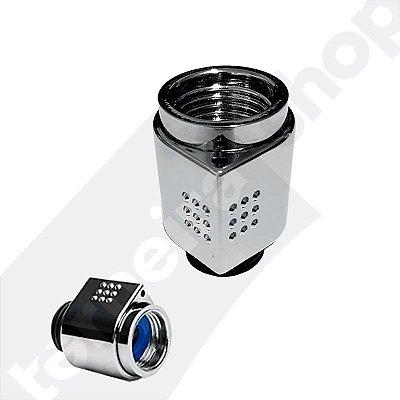 Desviador Botão Abre / Fecha Giratório Para Ducha Manual