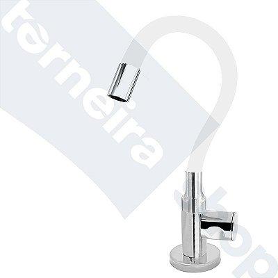 Torneira Cozinha Mesa Flexível Color Branco 1/4 de Volta C35