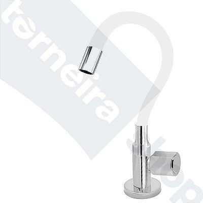 Torneira Cozinha Mesa Flexível Color Branco 1/4 de Volta C40
