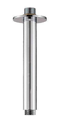 Braço Redondo Para Ducha Teto Tubo Rosca 1/2'' Metal