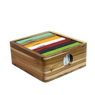 Kit Mais Vendidos c/ 7 caixas + Caixa organizadora Teca