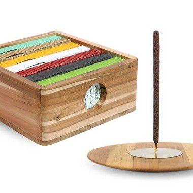 Kit Mais Vendidos c/ 7 caixas + Incensário e Caixa Teca