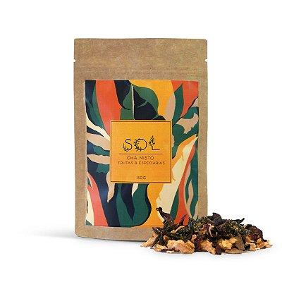 Chá Infusões Sol - Blend de Frutas e Especiarias