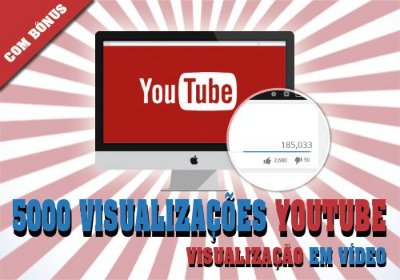 5.000 Visualizações no Youtube
