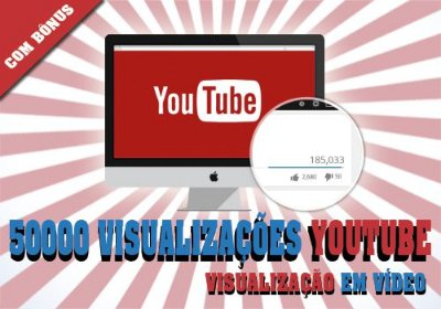 50.000 Visualizações no Youtube