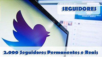 2.000 Seguidores no Twitter