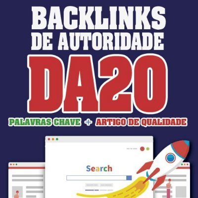 Comprar 5 Backlinks Dofollow Em Sites Com Da20
