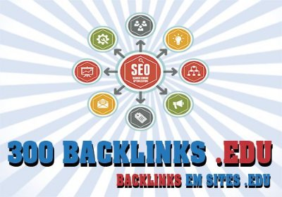 300 Backlinks em Sites .EDU