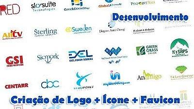 Criação de Logo + Ícone + Favicon