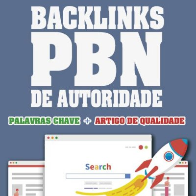 20 Backlinks PBN e Backlinks Sinais Social