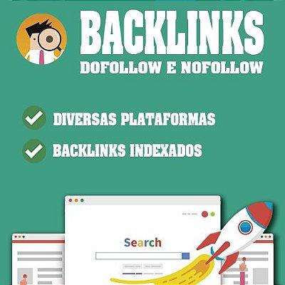 Comprar 100 Backlinks Dofollow e Nofollow De Qualidade