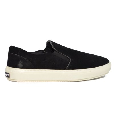 Tênis Slip On - Suede Black