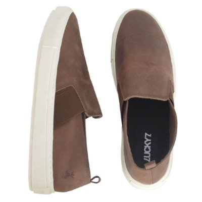 Tênis Slip On - Crazy Horse Brown