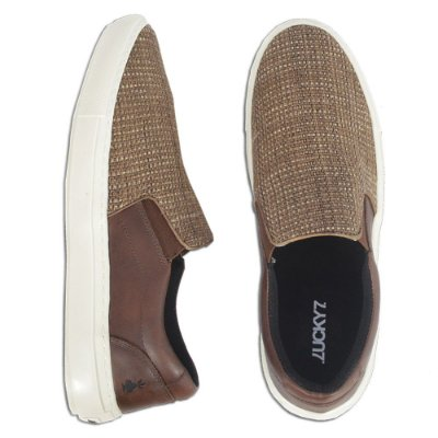Tênis Slip On - Juta Brown'n Coffe