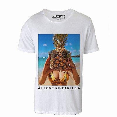 Camiseta Lucky Seven - i love Pineapple