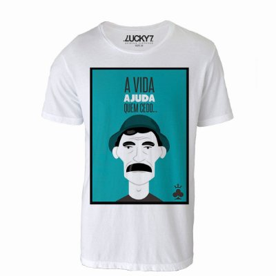 Camiseta Gola Básica - Madruga