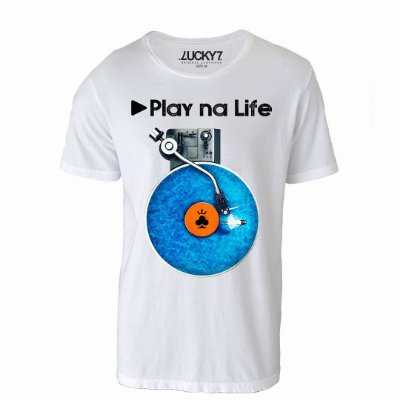 Camiseta Lucky Seven - Play na Life