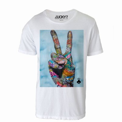 Camiseta Lucky Seven - Peace and Lucky