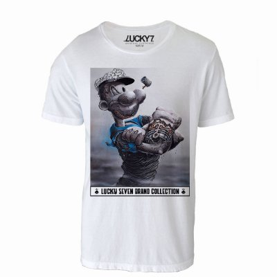 Camiseta Lucky Seven - Bad Popeye