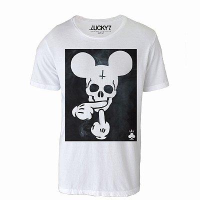 Camiseta Lucky Seven - Mickey Skull