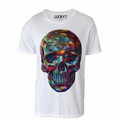 Camiseta Lucky Seven - Skull Painting