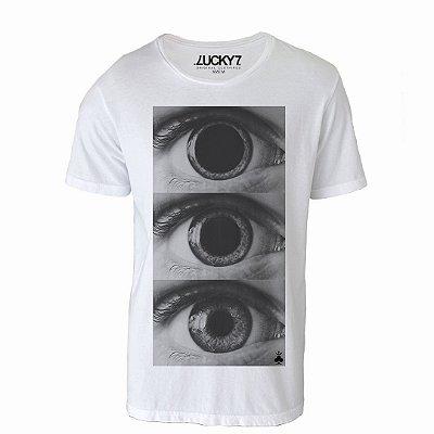 Camiseta Lucky Seven - Olhos