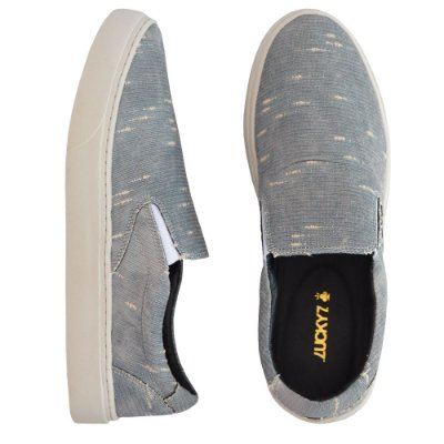 Tênis Slip On - Destroyed Grey