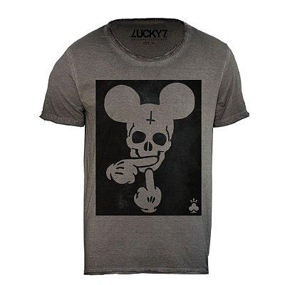 Camiseta Relax - Mickey Skull