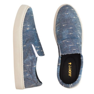 Tênis Slip On - Destoyed Navy