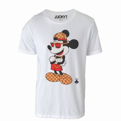 Camiseta Lucky Seven - Crazy Mouse