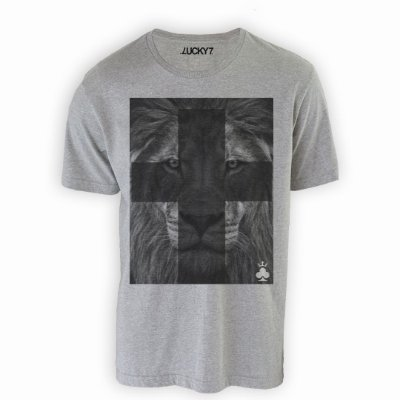 Camiseta Lucky Seven - Lion Cross