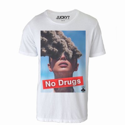 Camiseta Lucky Seven - No Drugs