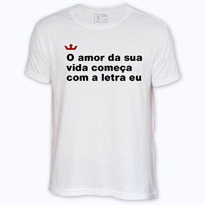Camiseta Resenha - Amor da sua vida