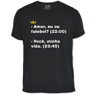 Camiseta Resenha - Amor ou Futebol
