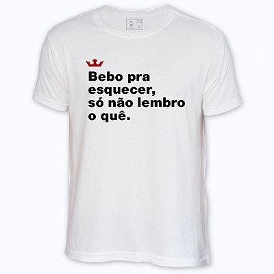 Camiseta Resenha - Bebo pra esquecer