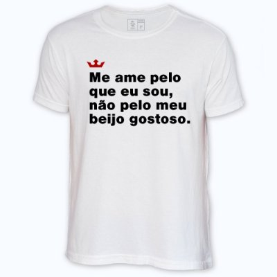 Camiseta Resenha - Beijo gostoso